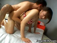 Asian babe milf fuck and suck part5