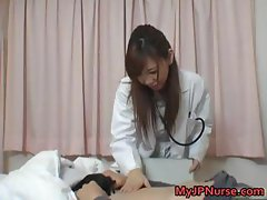 Hot Japanese Doctor has sex part5