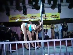 G string Contest in the Club