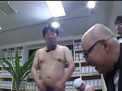 Japan girls enjoing a public sex