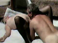 Mature gets a licking
