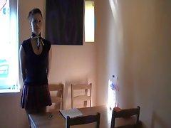 Naughty Schoolgirl Anal