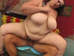 Busty slut enjoying hardcore sex