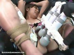 Japanese bondage bdsm pussy torture