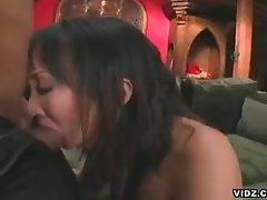 Asian slut katja kassin adept in cock sucking