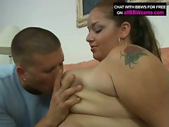 Hot bbw fuck action who loves slamming dick action