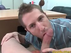 Guy sucks and fucks massive dick gay sex part3