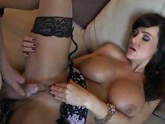 Lisa Ann gets a creampie