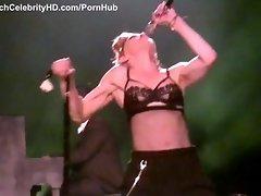 Madonna - MDNA Concert Turkey 2012 - See 53-Year-Old Nipple