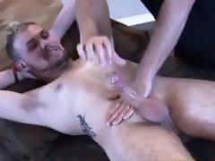Throbbing Rock Hard Cock Jacked