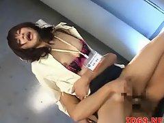 Japanese AV Model and other girls fucked