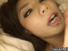 Aya Hirai lovely young Asian wife enjoy part4