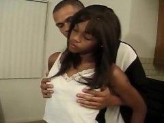 He Shuts Her Up