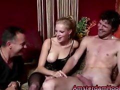 Amsterdam whore fucked cumshot