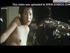 Japanese movie with her getting fucked and taking care of angry guy
