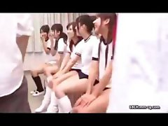 Young wild Asian schoolgirls are like animals in heat and need to fuck