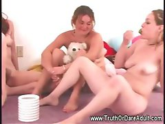 Party with naked and horny lesbians