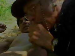 Horny granny finds a lover