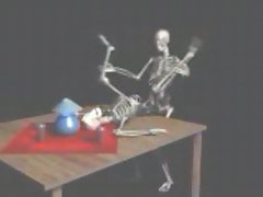 Fucking skeletons