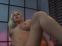 Hot blonde Heidi Mayne gets her tight ass and pussy pounded & cum in her face