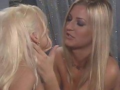 Avy Scott and a sweet lesbo friend in hot girl/girl action