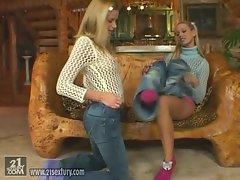 Sophie Paris and Vega Vixen have a sexy and wet lesbian encounter