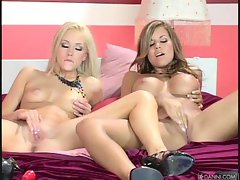 Brea Bennet and Nicole Graves in hot all girl action