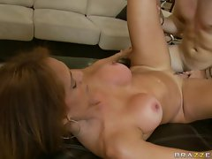 Monique Fuentes goes hardcore on a big cock