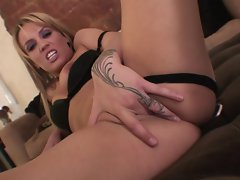 Holly Wellin is banged stupid in her boots