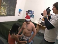 Dude is filmed getting his best ever Christmas present