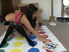 India Summers and Karlie Montana play twat twister