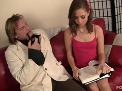 Riley Reid gets twatted by her teacher