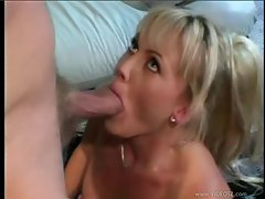 Chennin Blanc gets her mouth stuffed with hard cock