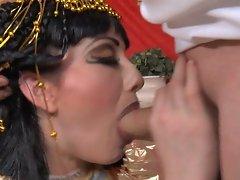 Hot babe Jennifer White loves a good fantasy, she blows her way through