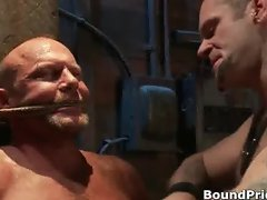 Very extreme gay BDSM free porn clips part5