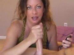 Nancy is so horny for her boyfriend cum she wants a golden shower