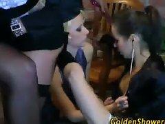Lesbian fetish orgy babes