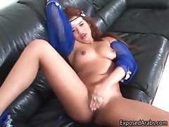 Cute Arabian dancer loves pleasing part2