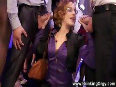 European pornstars fuckings at party