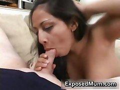 Latina mom tit fucks and pounded hard part2