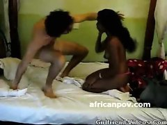 African Blowjob On Hid Cam