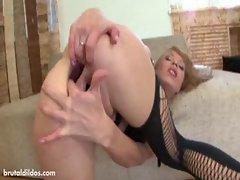 Huge anal gapes