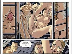 Hardcore sex comic and Fantasy bondage comic