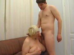 Huge tits Granny 2