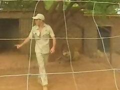 Blondie Bee dp in Africa