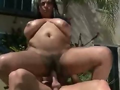 Slut With Big Tits Rides Fat Cock