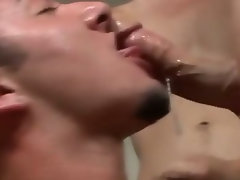 Gay pushed to suck harder