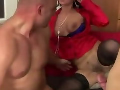 Fetish european cunt takes a couple of dicks hard and deep