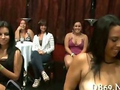 Tons of bitches are happy to see dick