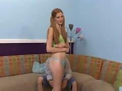 Pigtails Teen&amp,#039,s First Cam ...F70